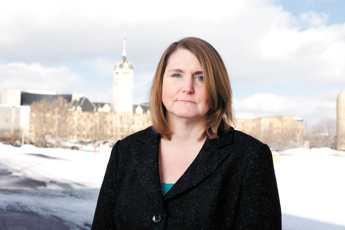 Kari Reardon served as a public defender in Spokane for nearly 24 years and is now director of the Cowlitz County Public Defender's Office. - YOUNG KWAK PHOTO