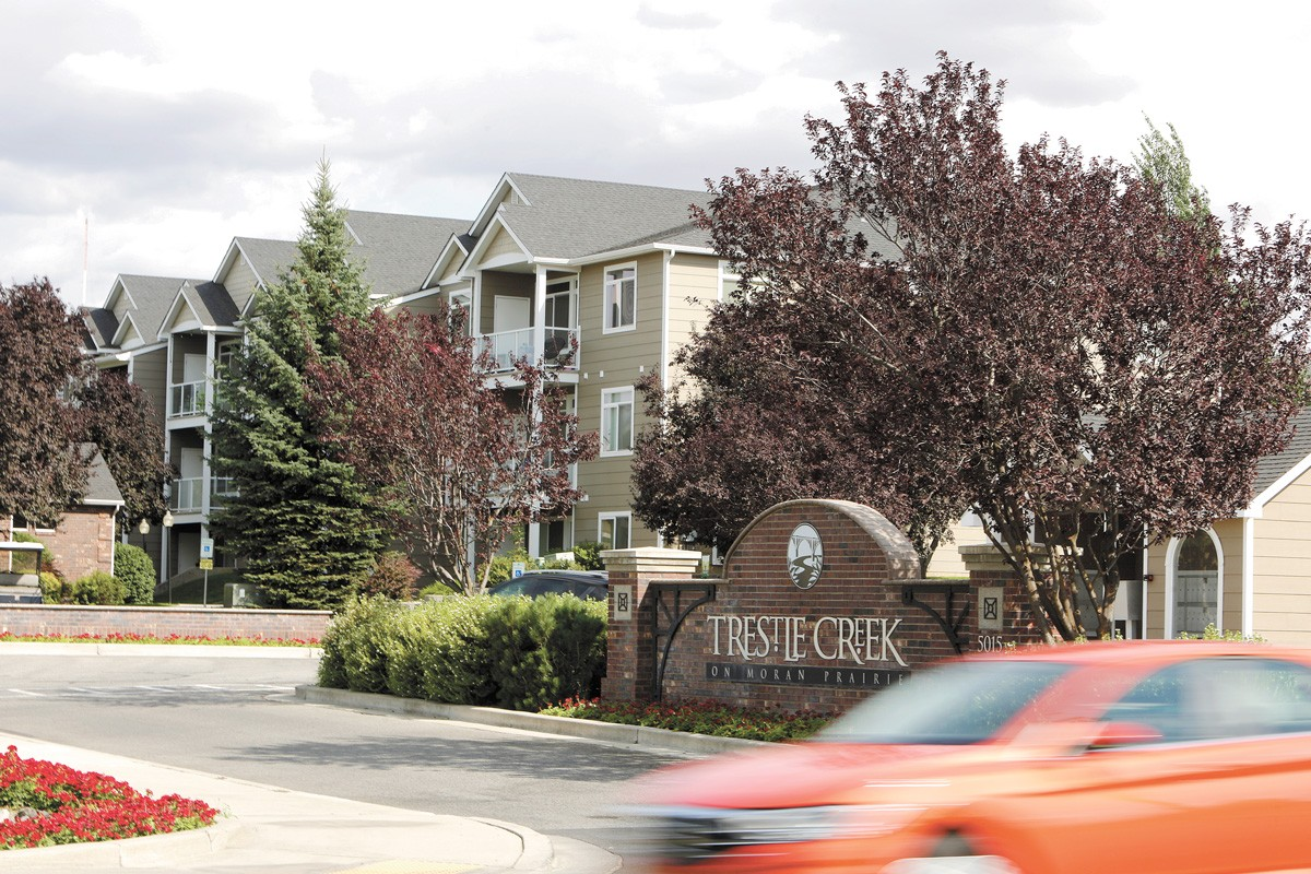 Tenants at Trestle Creek, along with other properties owned by Greystar, are experiencing huge rent spikes. - YOUNG KWAK PHOTO