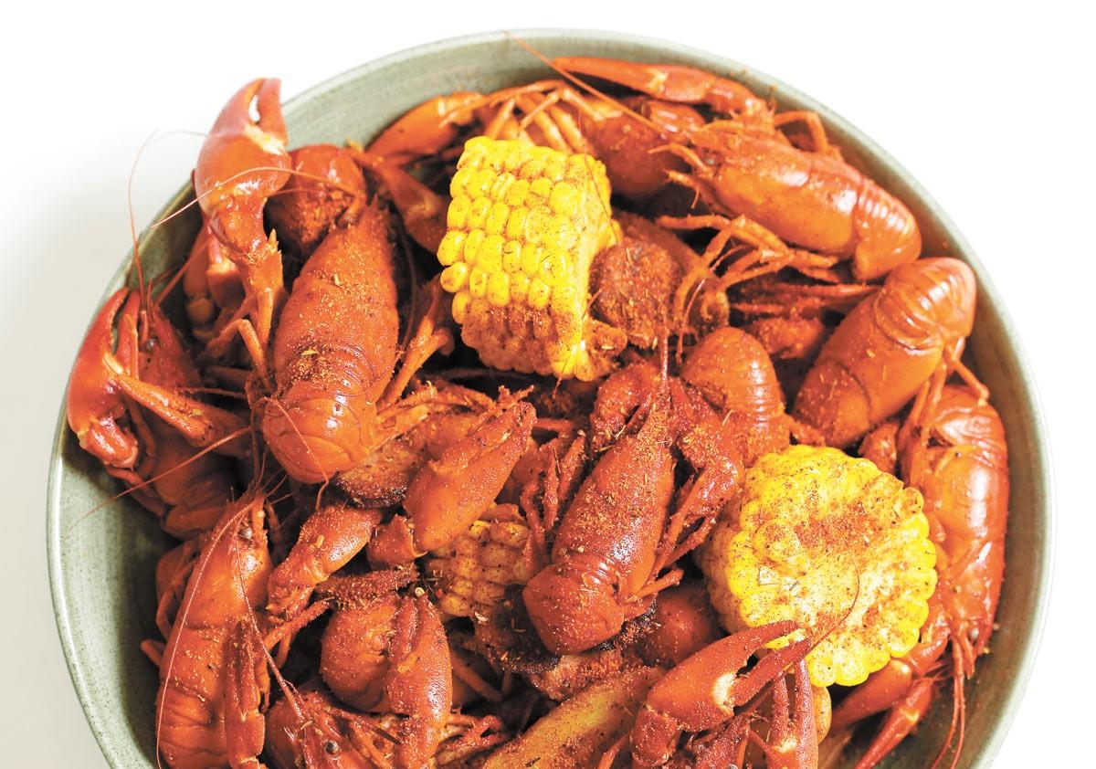 Crawfish boil from Vieux Carre NOLA Kitchen