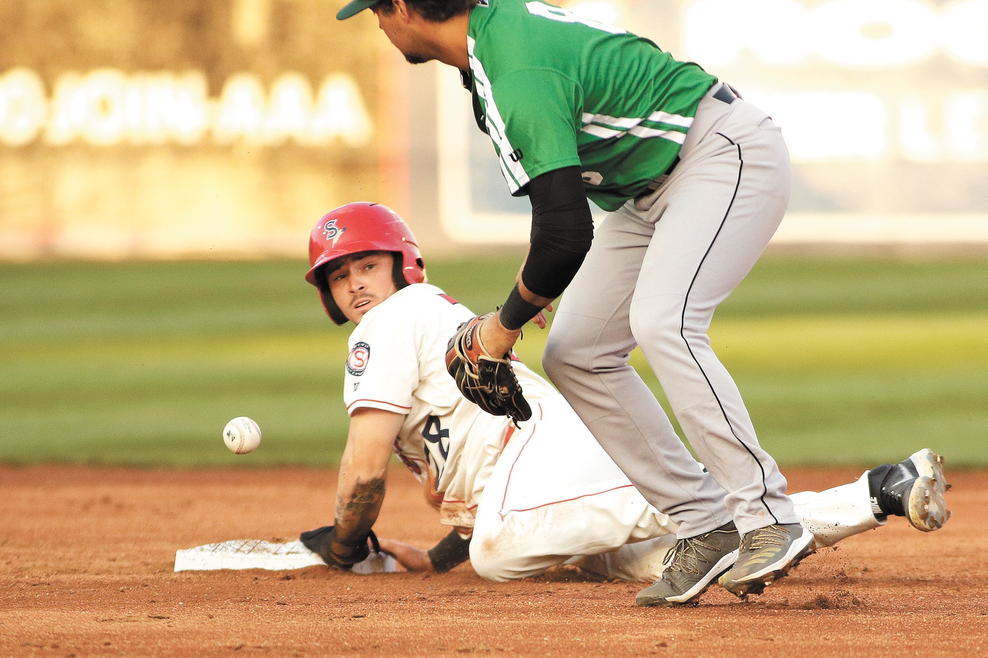 The Spokane Indians have home games against the Hillsboro Hops Aug. 19-22.