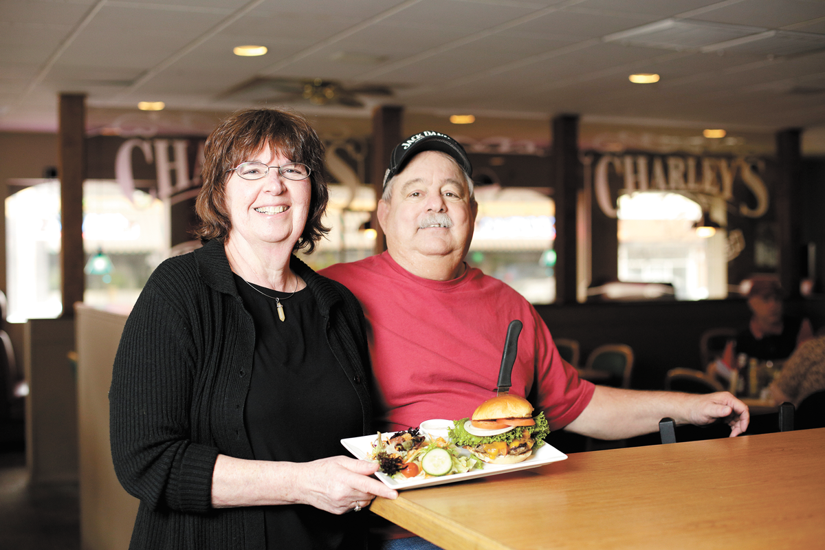 Shirley and Jack Williams operated Charley's Grill since 1978. - YOUNG KWAK PHOTO
