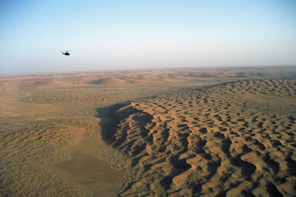 The Registan Desert between Helmand and the Spin Boldak border crossing into Pakistan. - ELEANOR BAUMGARTNER PHOTO