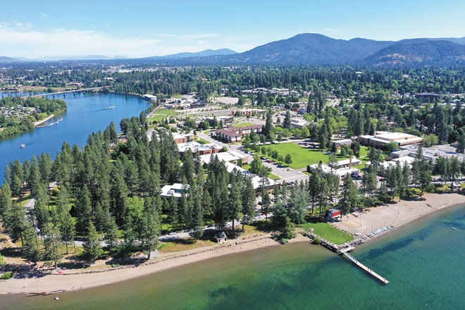 Masks are no longer required on North Idaho College's campus. - NORTH IDAHO COLLEGE PHOTO