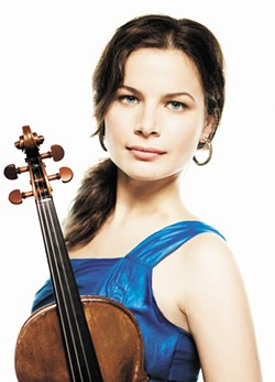 Guest soloist Bella Hristova - LISA-MARIE MAZZUCCO PHOTO