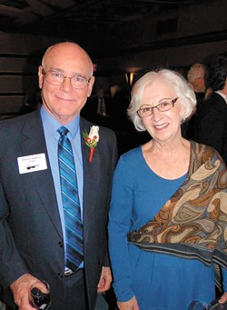 ABOVE: Bruce Colquhoun and Peggy Springer