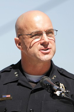 SPD Chief Craig Meidl - YOUNG KWAK PHOTO