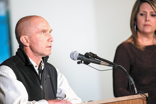 The termination of former health officer Dr. Bob Lutz continues to reverberate, and records show the health district's Amelia Clark drafted early versions of the health board's statement responding to an Inlander report. - DANIEL WALTERS