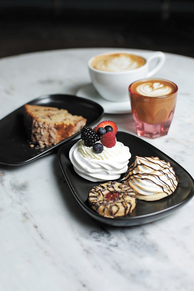 All pastries served at Emma Rue's are gluten-free. - YOUNG KWAK PHOTO