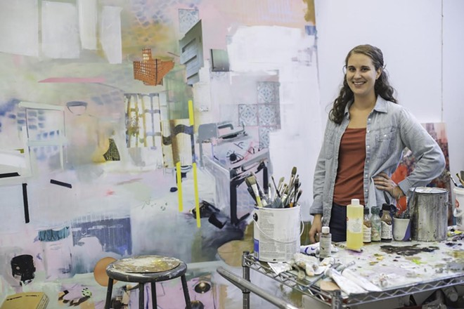Artist Emily Somosky has a show opening Friday at Marmot Art Space in Kendall Yards. - COURTESY MARSHALL PETERSON