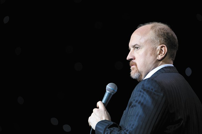 Louis C.K. is back headlining large theaters after a scandal briefly put his career on pause.