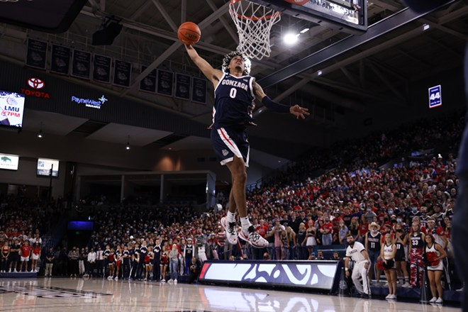 Julian Strawther could be the Zags under-the-radar scoring weapon. - PHOTO COURTESY GONZAGA ATHLETICS