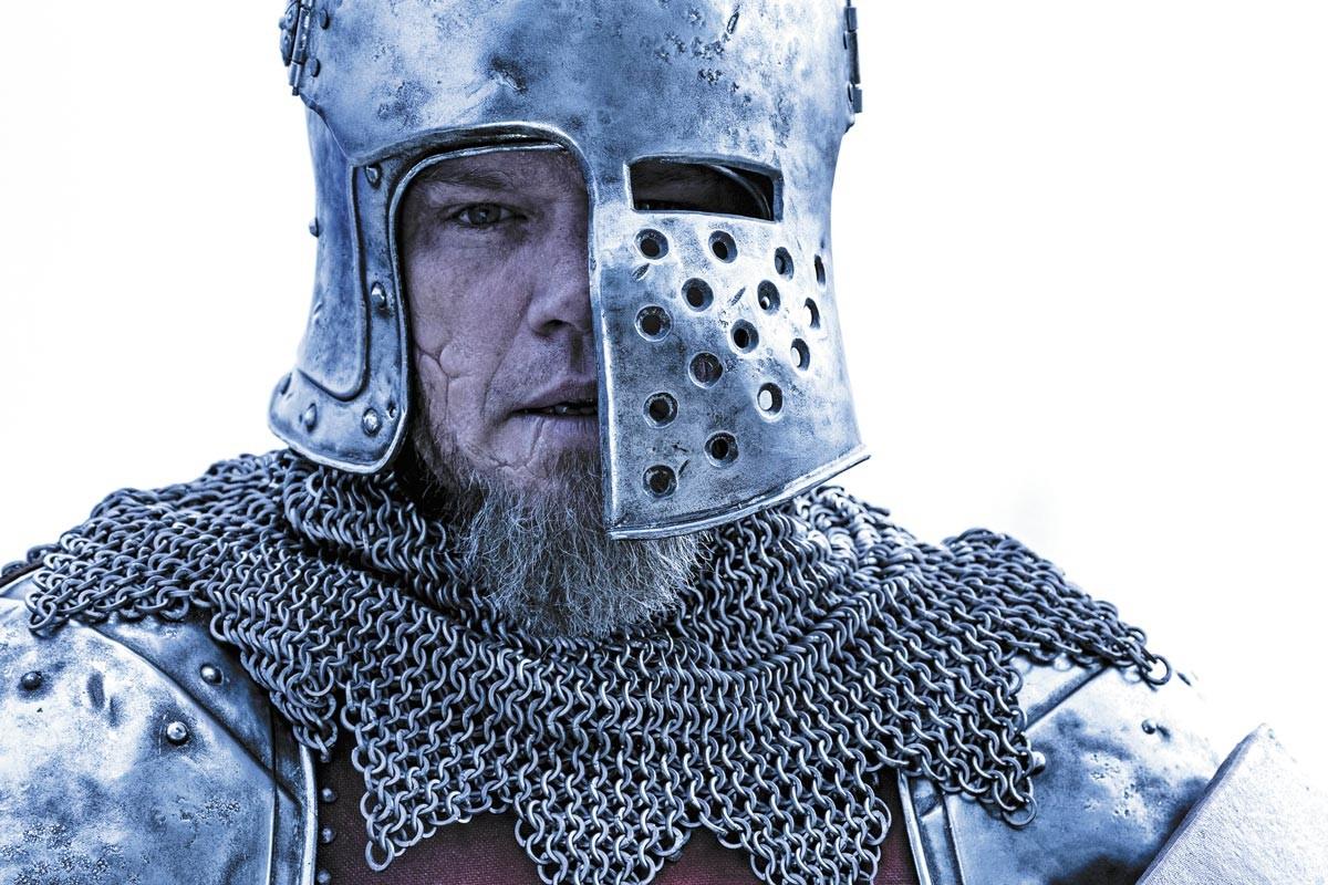 Matt Damon leads a knight life in The Last Duel.