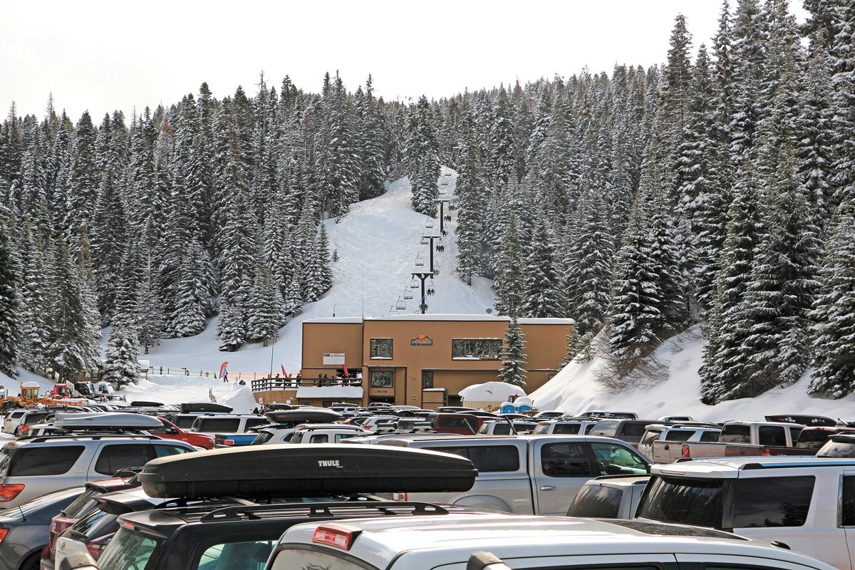 Tailgating recommended pre-ski. - BLUEWOOD PHOTO