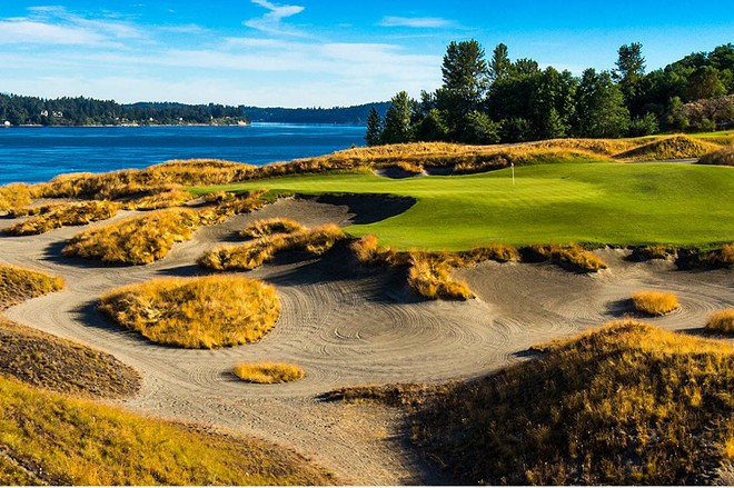 Chambers Bay hosts the U.S. Open for the first time ever.