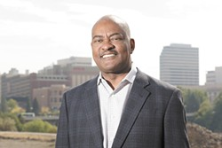 Elson Floyd, pictured in September - YOUNG KWAK