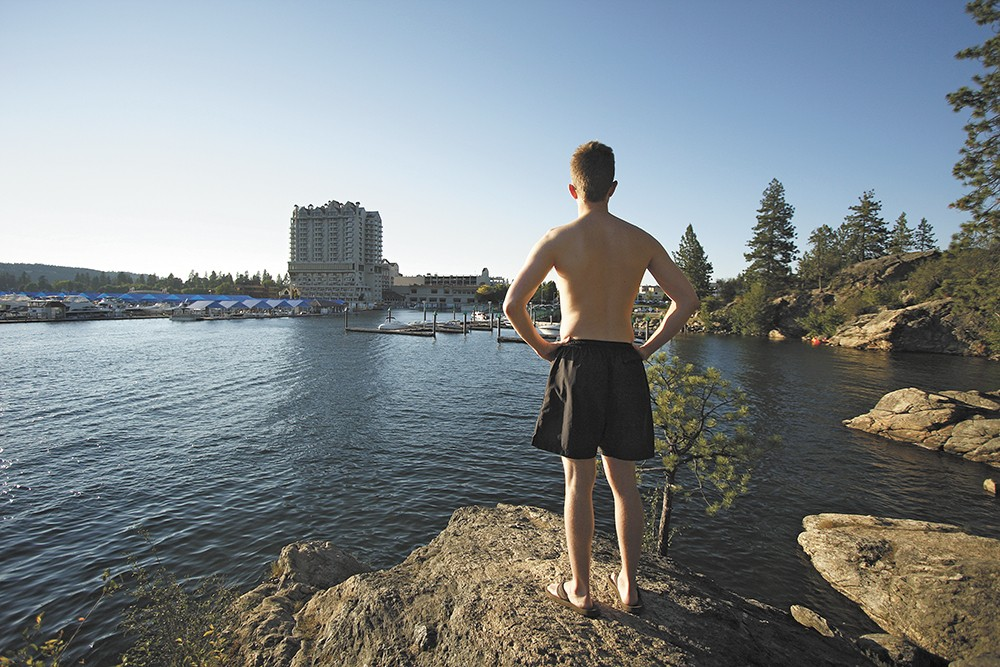 Summer in Coeur d'Alene is not complete without a visit to Tubbs Hill. - YOUNG KWAK
