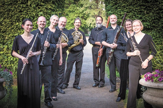 The Connoisseur Concerts Wind Ensemble is set to play the overture to a Mozart opera at Mozart in the Park.