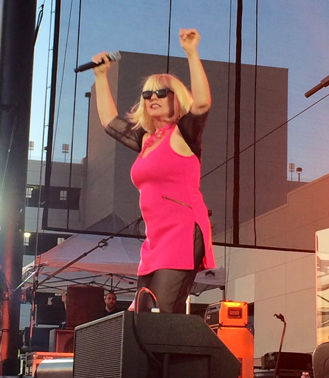 Debbie Harry still has got the moves, even at 70. - LAURA JOHNSON
