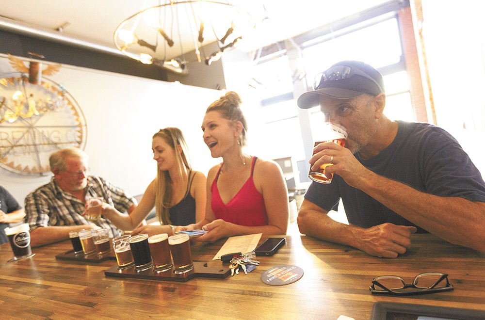 Orlison Brewing Co.'s taproom just opened in downtown Spokane. - YOUNG KWAK