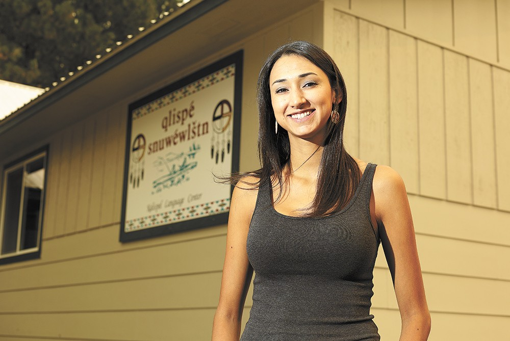 Jessie Isadore began teaching Salish as soon as she began learning the language herself. - YOUNG KWAK