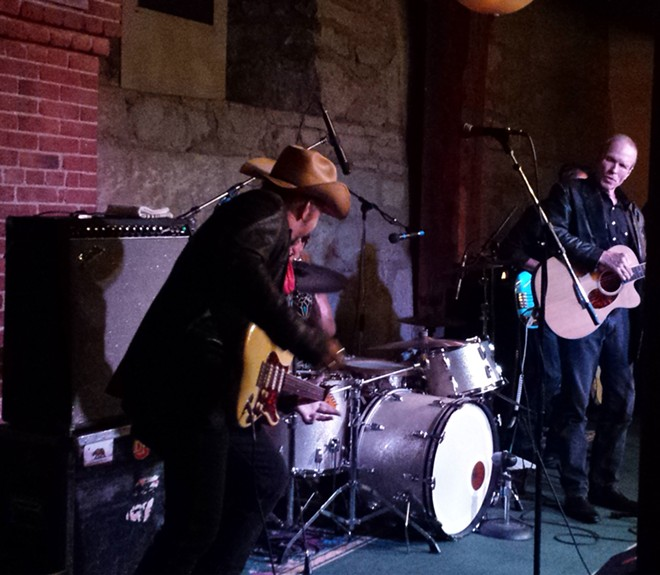 Dave Alvin, left, and his brother Phil just released Lost Time, their second album in two years after a 30-year split. - DAN NAILEN