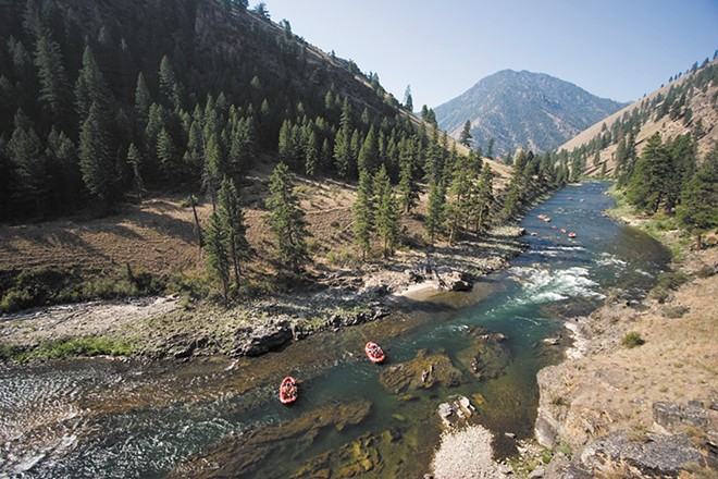 ROW Adventures leads a trip down Idaho's Middle Fork of the Salmon River.