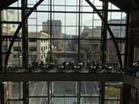 """The view of the new """"landing"""" at Twigs Bistro at River Park Square - MAX CARTER"""