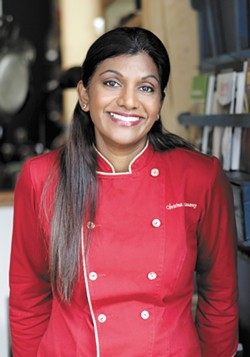 Christina Arokiasamy's first cookbook, The Spice Merchant's Daughter, was hailed as one of 2008's Top Ten by NPR. Her second, due in 2016, focuses on using spices for health.