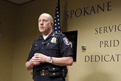 Former Spokane Police Chief Frank Straub wants $4 million.