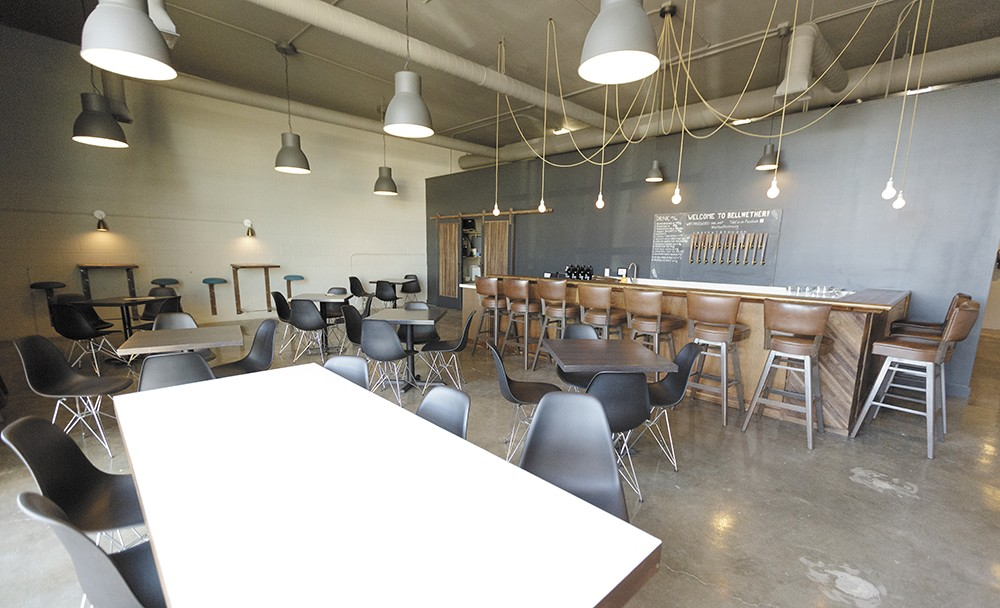 Bellwether's tap room is family-friendly and community-minded. - YOUNG KWAK
