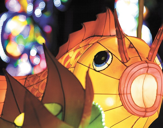 The Chinese Lantern Festival has been extended now until Nov. 15. - YOUNG KWAK