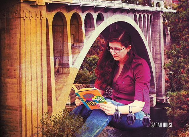Sarah Hulse is featured this month for EWU's visiting writer series. - KRISTEN BLACK