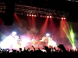 Mac Miller and the GO:OD AM Tour raged through Spokane Saturday night. - MAX CARTER