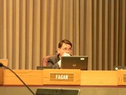 Councilman Mike Fagan - JAKE THOMAS