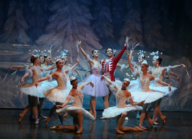 The Moscow Ballet's Great Russian Nutcracker comes to town this week.