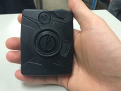 A body camera - MITCH RYALS PHOTO
