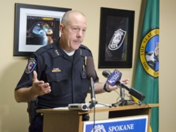 Ousted Police Chief Frank Straub