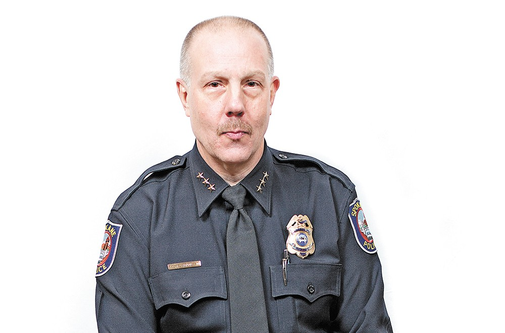 Frank Straub was forced out as Spokane's police chief on Sept. 22.