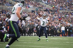 Russell Wilson is going full legend through the air the last few weeks. - SEAHAWKS.COM