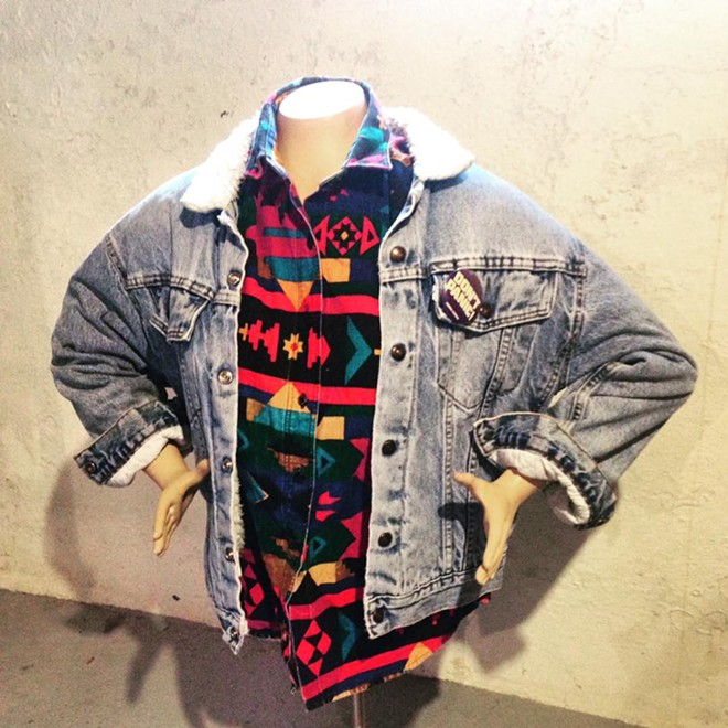 This is the sort of outfit you may find while sifting through items at Junk Church.