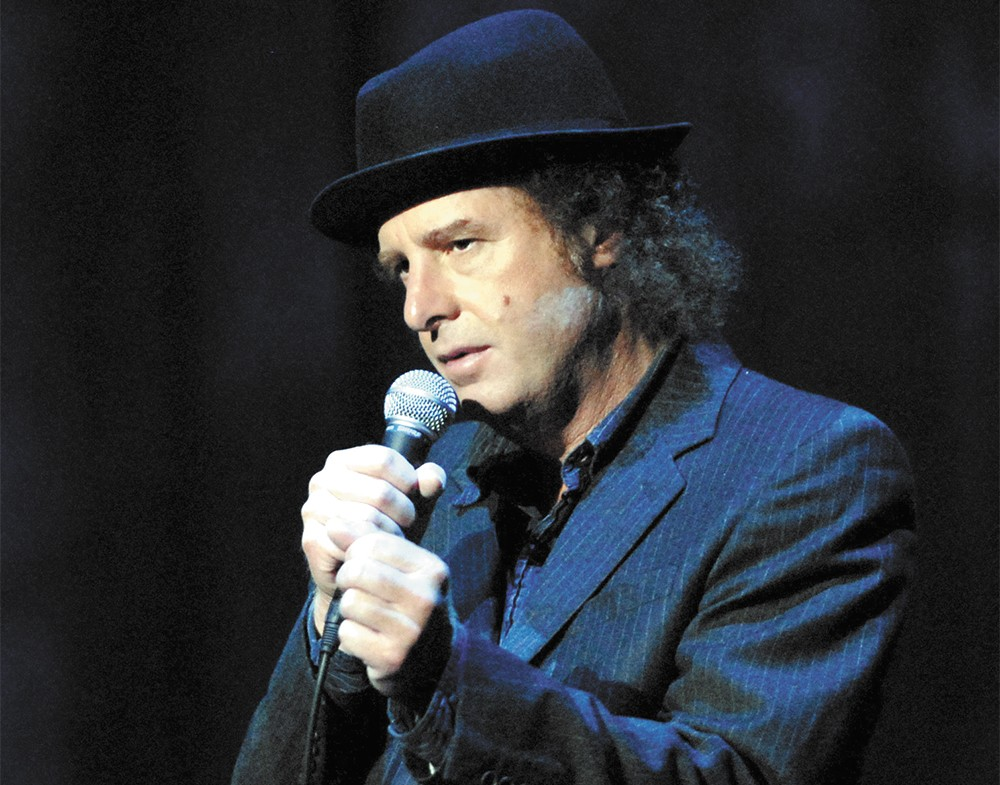 Steven Wright is using his actual-size map to find Spokane for his show Friday at The Bing. - JORGE RIOS