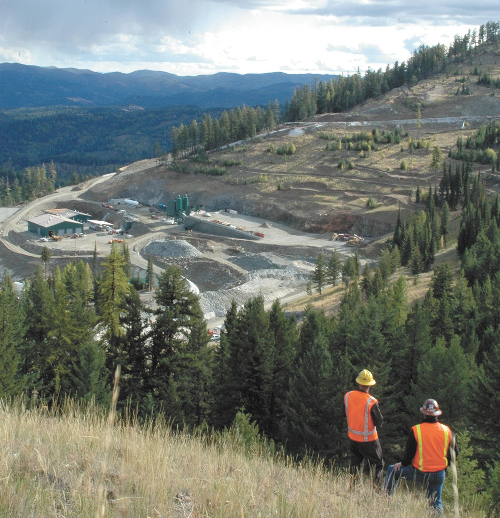 The Buckhorn mine is located about 45 miles northwest of Republic, Washington. - KINROSS GOLD CORP. PHOTO