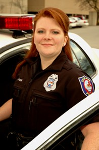Officer Teresa Fuller has been with SPD for nearly 18 years. - SPOKANE POLICE DEPARTMENT