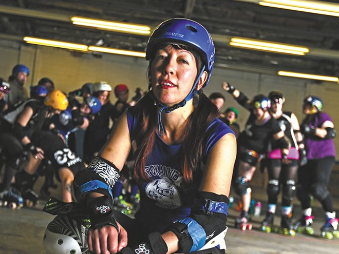 The Spokannibals are part of Saturday's Roller Derby Triple Header. - YOUNG KWAK