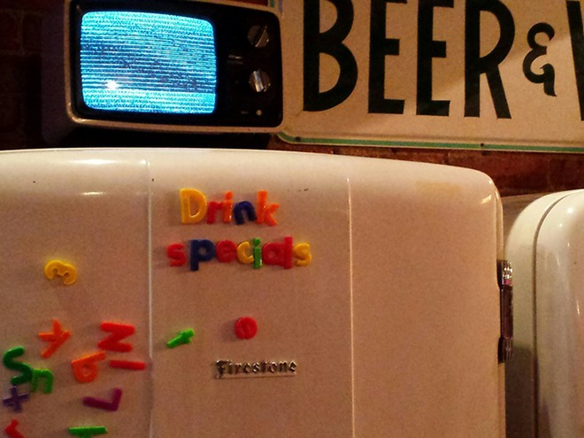 The old fridge holds frosty treats. - DAN NAILEN