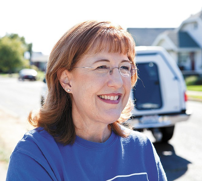 Nancy McLaughlin is the newest Spokane County Commissioner
