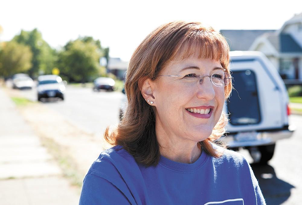 New Spokane County Commission member Nancy McLaughlin - STEPHEN SCHLANGE