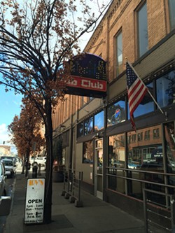 The outside of the newly named downtown club doesn't yet say Stray.