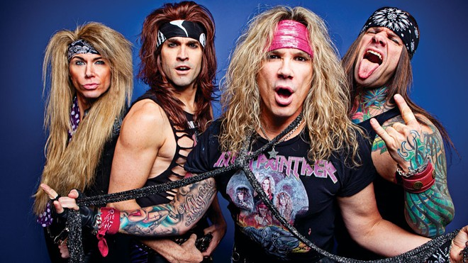 Expect absolute madness at Friday's Steel Panther comedy/glam rock show.