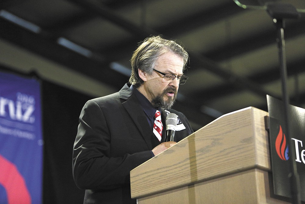 Pastor Tim Remington was shot a day after giving the invocation at a Ted Cruz rally. - YOUNG KWAK